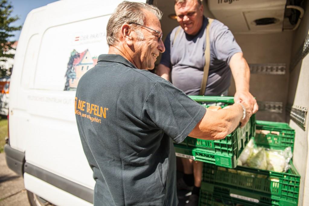 Die Tafeln bringen Lebensmittel dorthin, wo sie gebraucht werden.
